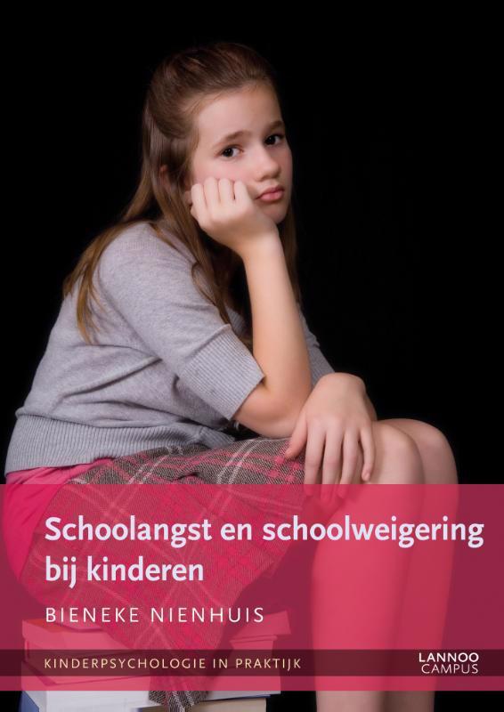 De voorkant van het boek met de titel : Schoolangst en schoolweigering bij kinderen