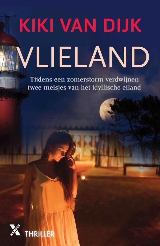 De voorkant van het boek met de titel : Vlieland