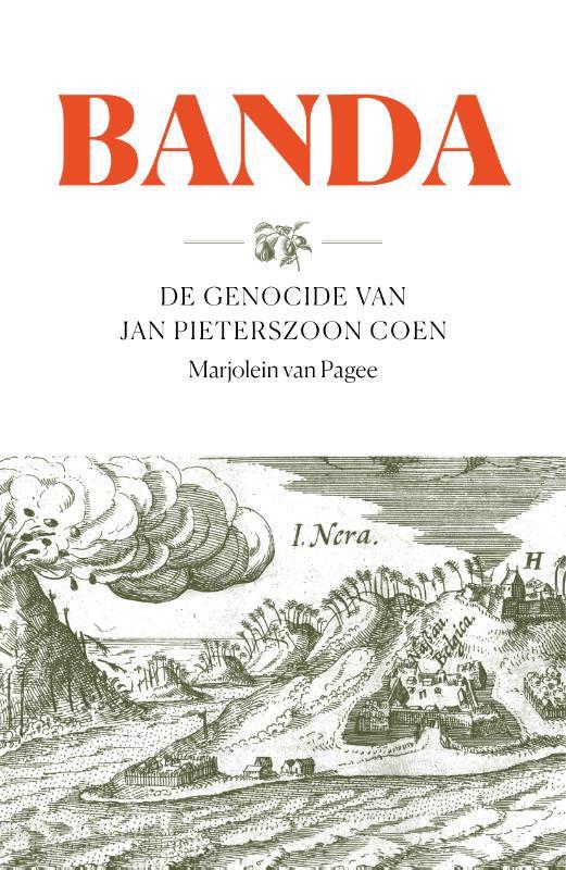 De voorkant van het boek met de titel : Banda