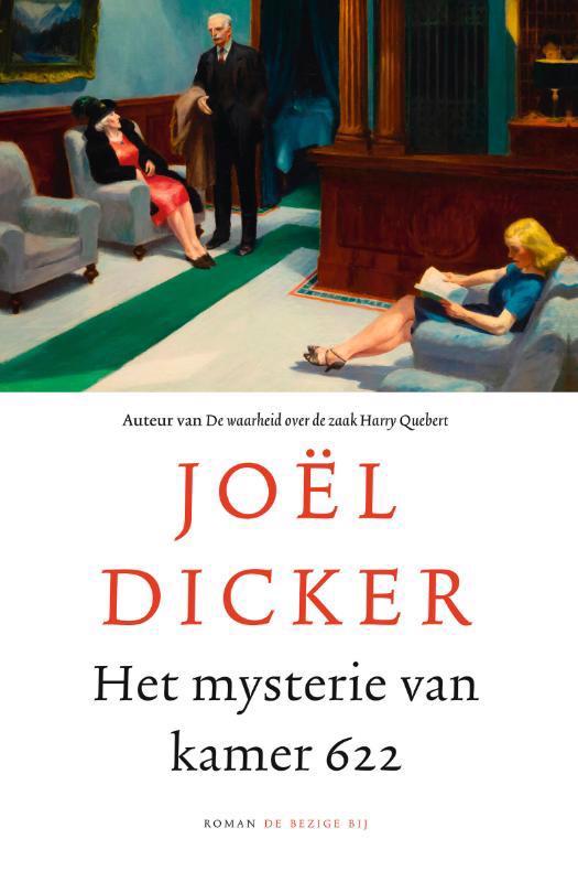 De voorkant van het boek met de titel : Het mysterie van kamer 622