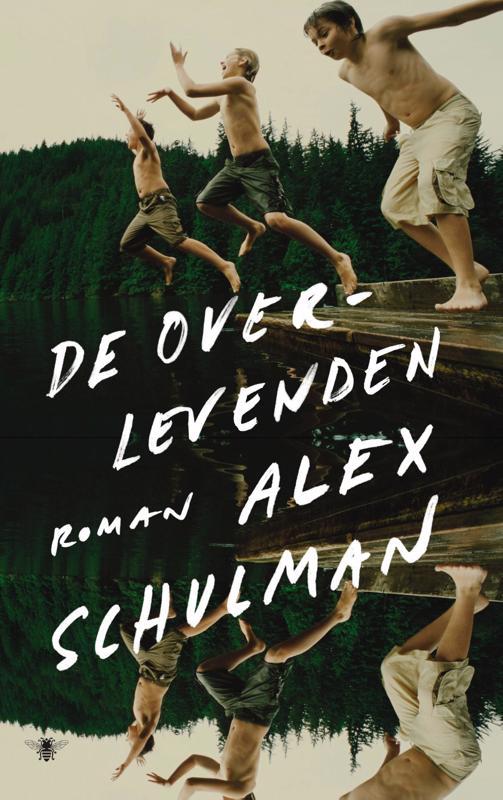 De voorkant van het boek met de titel : De overlevenden