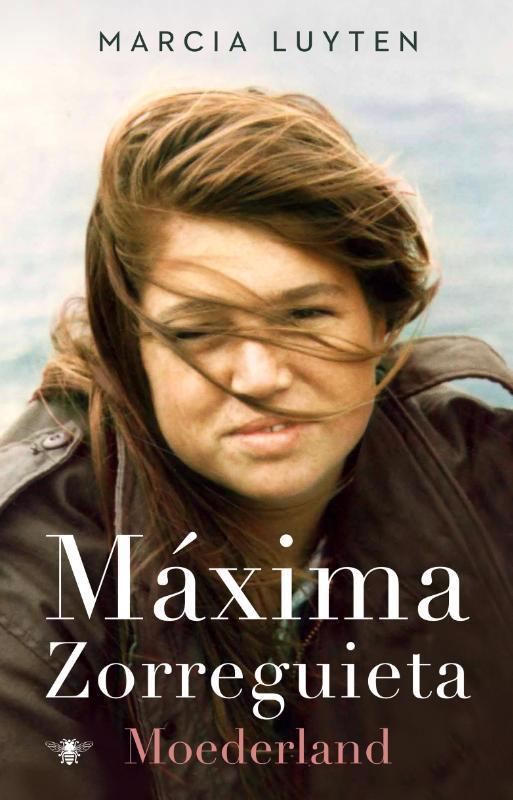 De voorkant van het boek met de titel : Maxima Zorreguieta