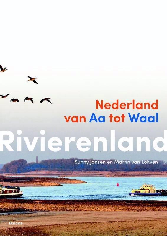 De voorkant van het boek met de titel : Rivierenland