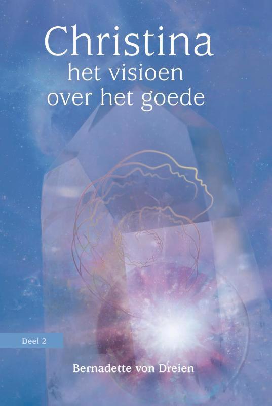 De voorkant van het boek met de titel : Het visioen over het goede
