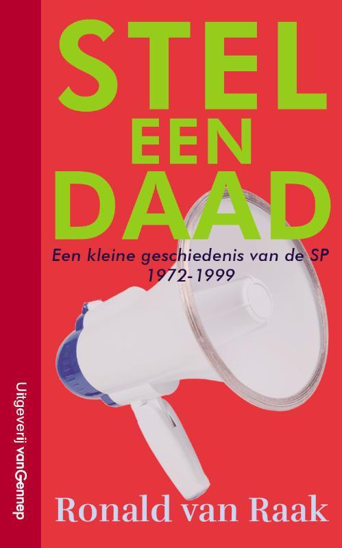 De voorkant van het boek met de titel : Stel een daad