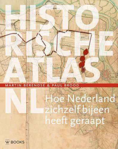 De voorkant van het boek met de titel : Historische atlas NL