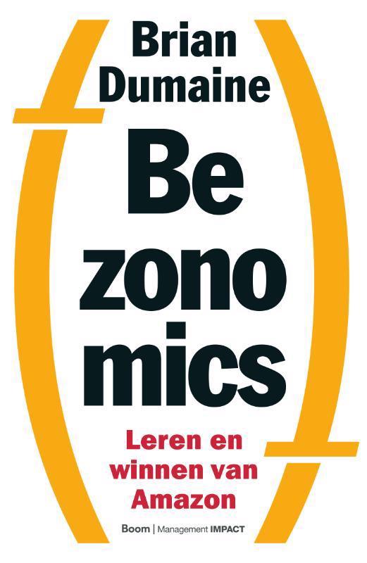 De voorkant van het boek met de titel : Bezonomics