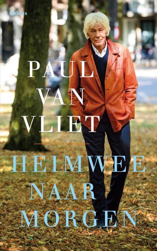 De voorkant van het boek met de titel : Heimwee naar morgen