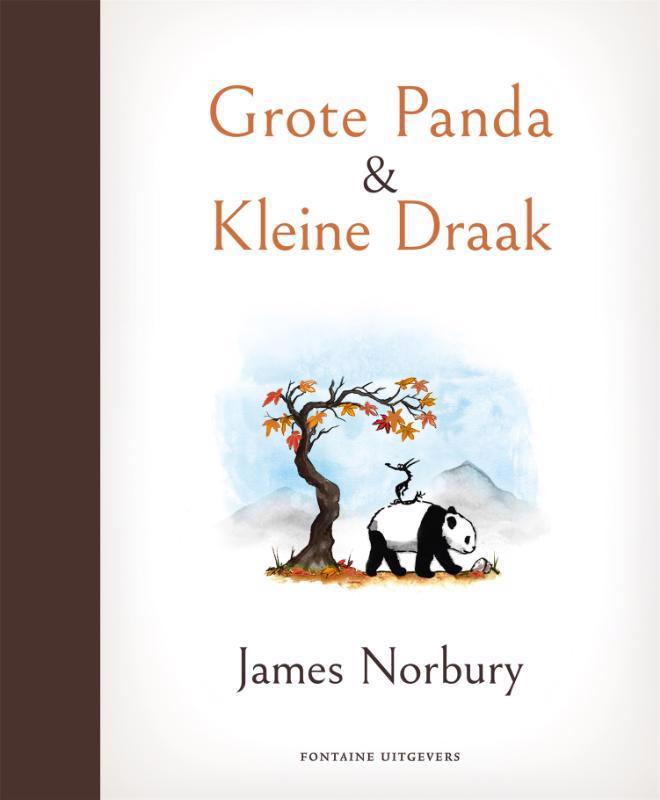 De voorkant van het boek met de titel : Grote Panda & Kleine Draak