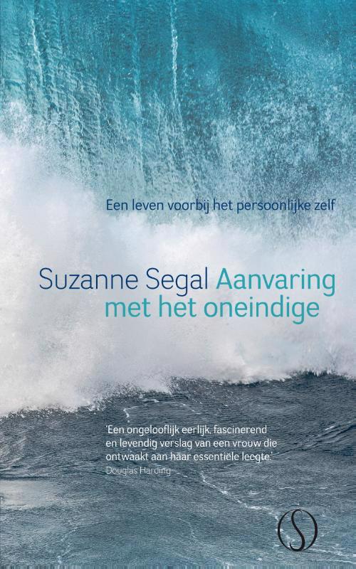 De voorkant van het boek met de titel : Aanvaring met het oneindige