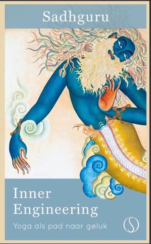 De voorkant van het boek met de titel : Inner engineering