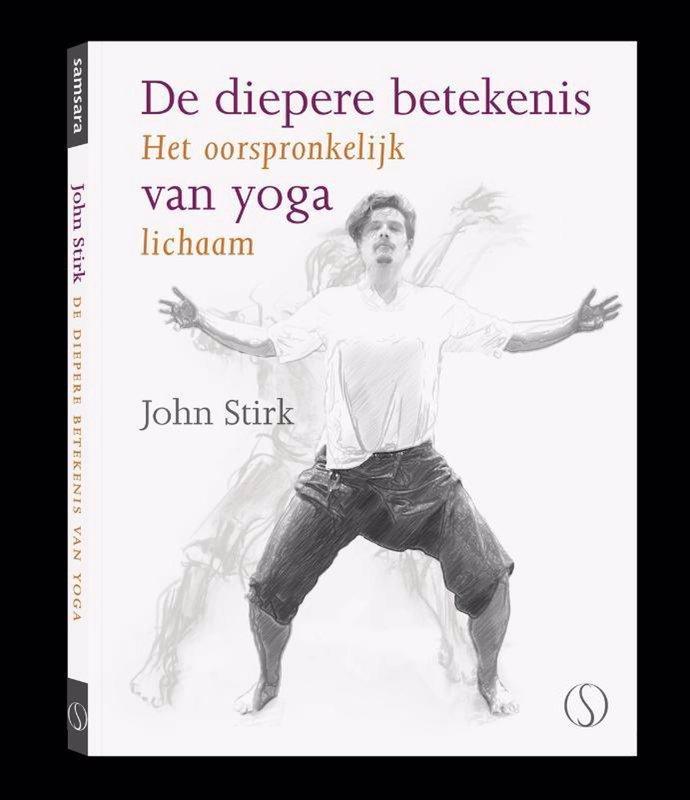 De voorkant van het boek met de titel : De diepere betekenis van yoga
