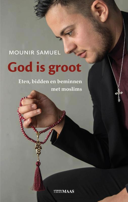 De voorkant van het boek met de titel : God is groot