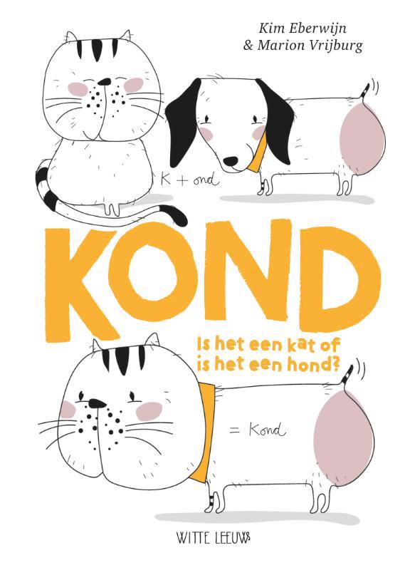 De voorkant van het boek met de titel : KOND