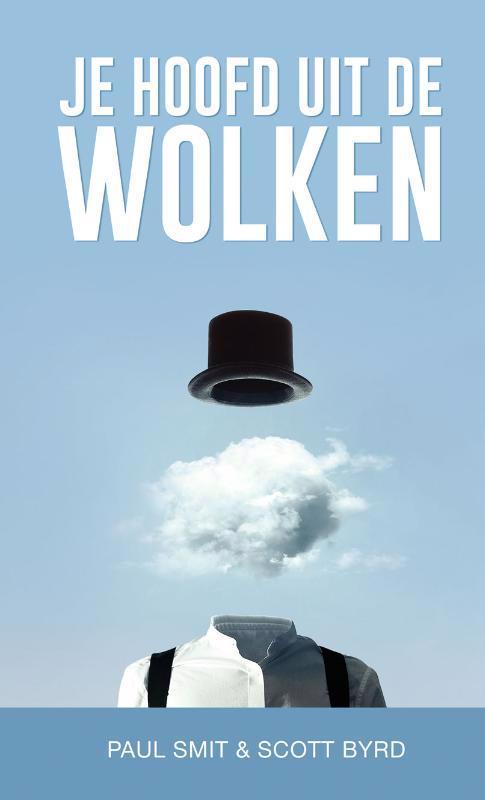 De voorkant van het boek met de titel : Je hoofd uit de wolken