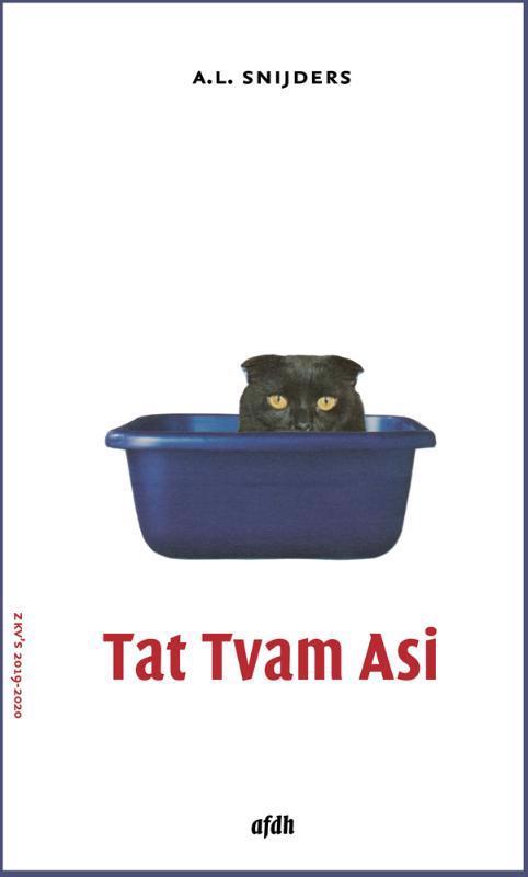 De voorkant van het boek met de titel : Tat Tvam Asi
